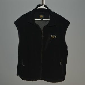 MOUNTAIN HARD WEAR mens wind stopper black vest